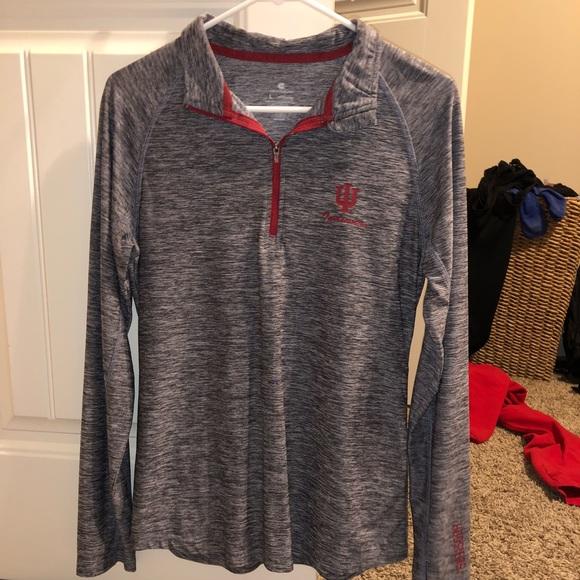 Nike Tops - Indiana Hoosiers Half-Zip